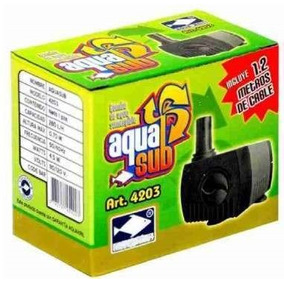 Bomba 4203 Agua Sumergible Mini 280 Lt 70cm+4 Mtrs Manguera
