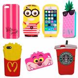 Funda Protector Silicona Iphone 5 5s Se Varios Modelos Promo