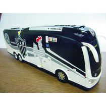 Miniatura Ônibus Atlético Galo - Times De Futebol