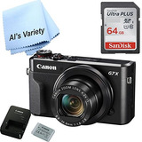 Canon G7x Mark Ii Digital Camera - Wi-fi & Nfc Enabled (blac