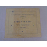 Colégio Santo Inácioexternato E Semi Internato - Convite1939