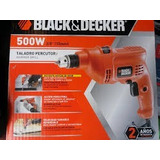 Taladro 1/2 550w Rev.percutor Black & Decker Con Maleta