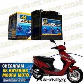 Bateria Moura Moto 3ah Shineray Bike 50cc