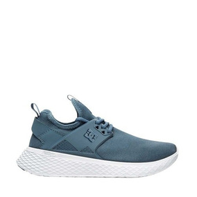 Tenis Casual Original Mujer Dc Shoes Azul Textil Is864 A