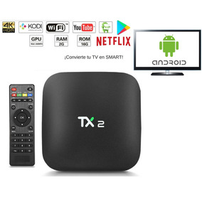 Tv Box Smart Tv Android Bluetooth 2 Gb Ram Y 16 Gb Netflix