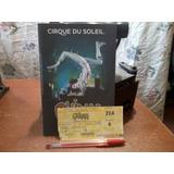 Entrada Ticket Quidam Cirque Du Soleil Usada Junio De 3006