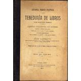 Lecciones De Teneduría Libros Partida Doble - Juan Giannetti