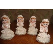 Comunion Nenas Rezando, ,adorno,souvenir,obsequio,blancas,