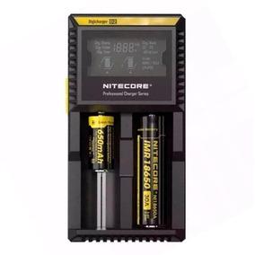 Carregador Nitecore D2 Para Baterias - Original