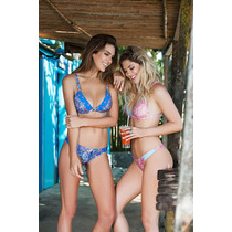 Conjunto Malla Bikini Lody Triangulo Soft Y Colaless 174