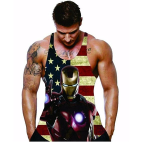 Camiseta Regata Herois Masculina Academia Musculação Fitness