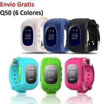 Reloj Localizador Gps Para Niños Smartwatch Q50 Llamadas Sos