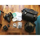 Nikon D3100 C/lente 18-55 Kit Reflex Digital/