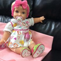 Boneca Reborn Miracle Baby Alive Ananda