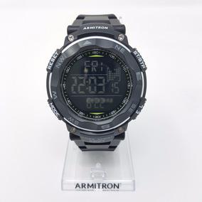 Reloj Sport Digital Hombre Negro Armitron Original Con Envio