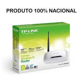 Roteador Wireless Tp-link Tl-wr740n 150m Antena5dbi Nacional