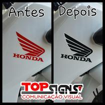Adesivos Faixas Emblema Honda Pop 110 I 2016 Frete Gratis