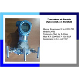 Transmisor Presion Diferencial Rosemount 3051 De 0 - 2000psi