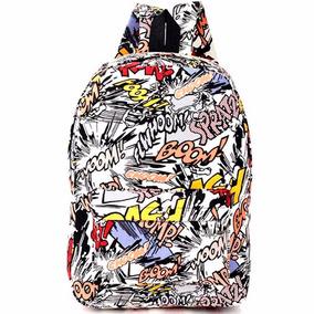 Mochila Backpack Modelo Graffiti Laptop M2958