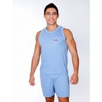 Kit 5 Pijama Masculino Regata Malha P.v. Revendedor Atacado