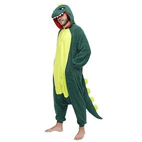 Onesie - Dinosaurio - Animal Adultos Traje De Pijamas - Lar