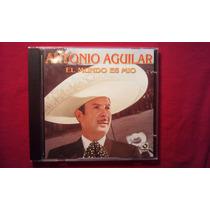 Cd Antonio Aguilar El Mundo Es Mio 2004