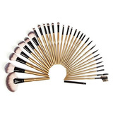 Yoa 32 Piece Makeup Brushes Set | Professional Kabuki Makeup