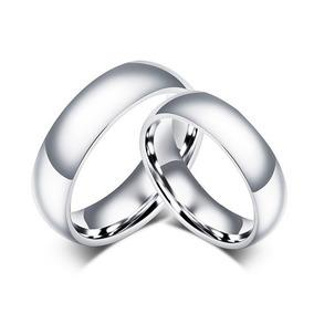 Par De Aliança De Namoro Compromisso De Aço Inox Do 14 Ao 30