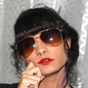 Óculos De Sol Lindo Designer Modelo Estilo Aviador Unissex