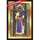 Quadro Imagens Sacras Católicas - São José E Menino Jesus