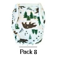 Pañales Ecológicos Grinnibe - Pack 8