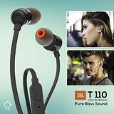 Audífonos Jbl Manos Libres Extra Bajo In Ear Original T110