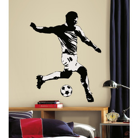 Vinilo Decorativo De Pared Roommates Jugador