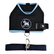 Peitoral Coleira Guia Pet Cachorro Colete Neoprene 3 Até 8kg