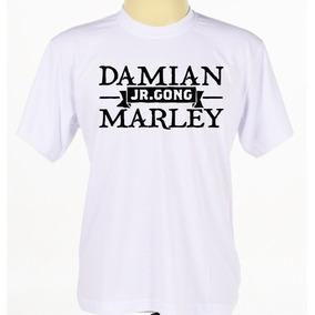 Camisa Camiseta Estampada Cantor Reggae Damian Marley