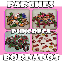 Bordados Parches Urbanos Decoradores Ropa 6 Centimetros.
