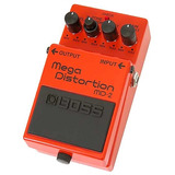 Pedal Analogo Boss Md2 Guitarra Md-2 Mega Distorcion