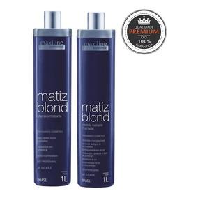 Kit Matiz Blond Prof. (shampoo + Emulsão) 2x1l - Maxiline