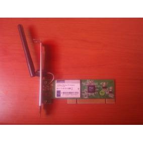 Tarjeta De Red 150mbps Adaptador Inalambrico Pci Lp-n24p