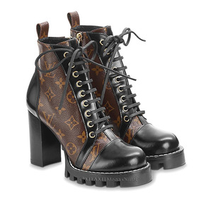 Bota Feminina - L O U I S V U I T T O N - Star Trail Ankle