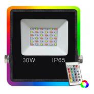 Reflector Led 30w Multiled Rgb 16 Colores Alta Potencia Exterior