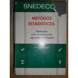 Metodos Estadisticos Aplicados A La Inv. Agricola Y Biologic
