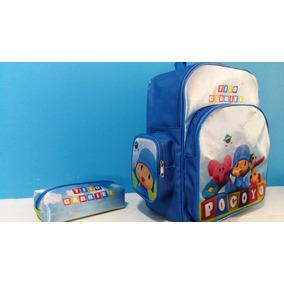 Mochila Personalizada Infantil Pocoyo Kit