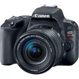 Camara Canon Eos Rebel Sl2 24 Mp 18-55 Mm 3.1x Optzoom