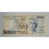Brasil Billete De 5000 Cruzeiros *049