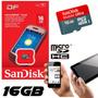 Tarjeta De Memoria Micro Sdhc 16gb Celular/tablet - Sandisk
