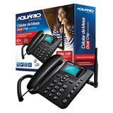 Telefone Celular De Mesa Dual Quadriband Aquário Ca-42 Desbl