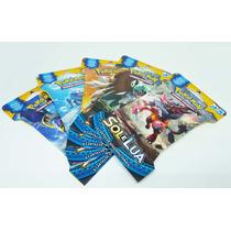Novo Pokemon Caixa Booster Box Sol E Lua 24 Boosters