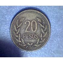 Lucas Col Colombia Moneda 20 Pesos 1990