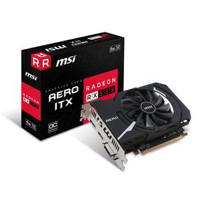Tarjeta De Vídeo Msi Radeon Rx 550 Aero Oc Itx 4gb Ddr5